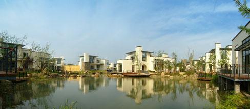 马克笔设计建筑泳池