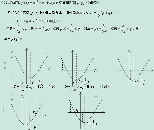 2013高考数学知识点总结-幂函数