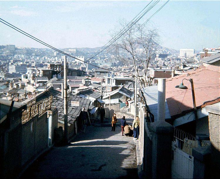 70年代的韩国首都首尔(组图)