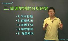 视频:托福考试综合任务task 4阅读材料分析