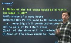 视频:AP宏观经济学选择题精讲