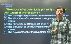 视频:AP微观经济学简答题精讲