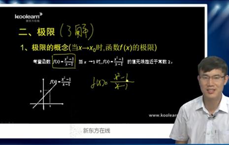 MPAcc数学考点-极限的精讲