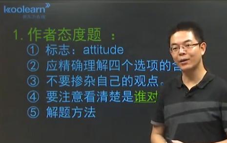 联考英语阅读理解题型解题方法精讲-作者态度题
