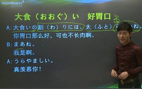 盾盾桑日语流行口语:好胃口