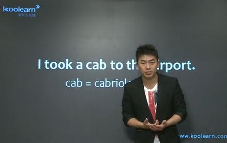 视频:留学生存手册之出租车