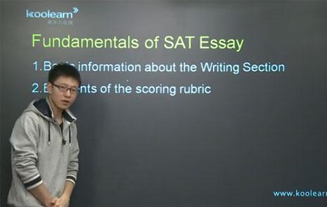 新东方名师贺培:SAT写作评分机制