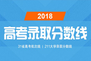 2018分数线