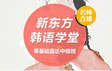 【新东方韩语学堂】零基础直达中级班