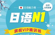 日语能力考N1旗舰VIP精讲班