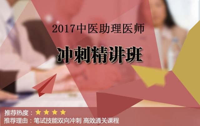 2017中医助理执业医师旗舰VIP协议通关班