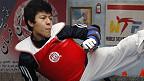 Rohullah Nikpai 伦敦谈体育:跆拳道运动员