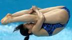 He Zi & Wu Mingxia 伦敦谈体育: 中国跳水运动员