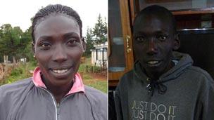 Kenyan runners 伦敦谈体育: 肯尼亚长跑运动员