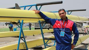 Haider Rashid 划船运动员